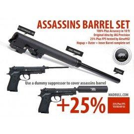Madbull Assassins Set M9 AC-MBCPSETM9 aktualisiert GBB-Teile