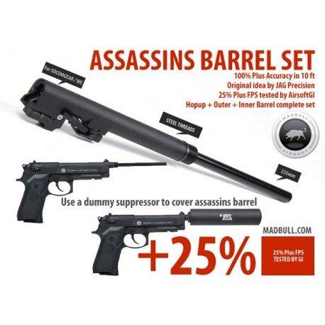 Madbull Set Assassin M9 AC-MBCPSETM9 Pièces Upgrades GBB