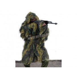 Ghillie Woodland Jacket