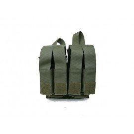 PANTAC Poche Chargeur M4 (x2) + Pistol (x4) Foliage (Pantac) AC-PTPHC54BRGA Poche Pistolet