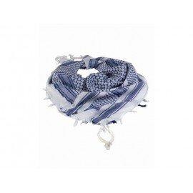 Shemag Blanc et Bleu