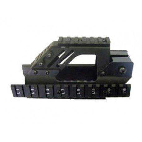 Kit Tactique P90 RIS Metal (Battleaxe) AC-BA730 RIS / RAS