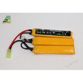 WE GunPowder Batterie LiPo 11,1v Triple 2200mah AC-GP9223012 Batteries