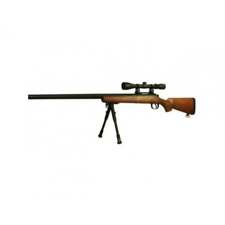 replique-Well MB03 type VSR10 Imitation Bois -airsoft-RE-WLMB03F