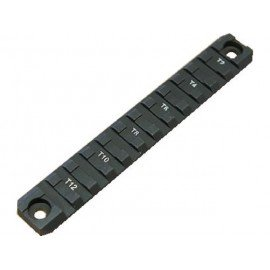 Carril 140mm Metal Negro (Emerson)