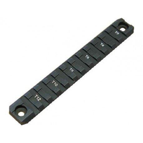 Emerson Rail 140mm Metal Noir (Emerson) AC-EMBD0894 Accessoires