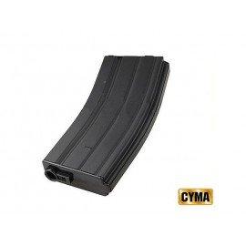 Cargador M4 Metal 150 Bolas Negro (Cyma M013)
