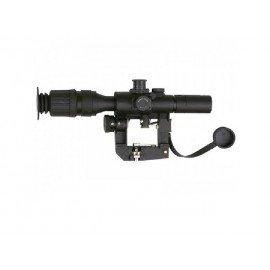 CYBERGUN Swiss Arms 4x28 Snifter SVD Sniper AC-CB123008 Zielfernrohr & Montageringe