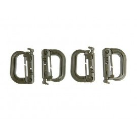 Carabiner / Grimloc (Set 4pcs) OD (101 Inc)