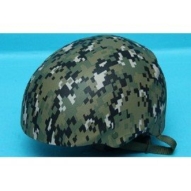 USMC Digital Woodland Helmet (G & P)