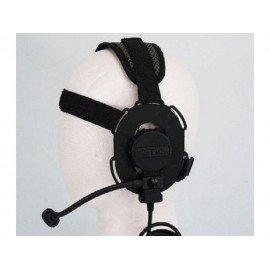 Z-Tactical Bowman Evo III casco negro (Elemento Z029)