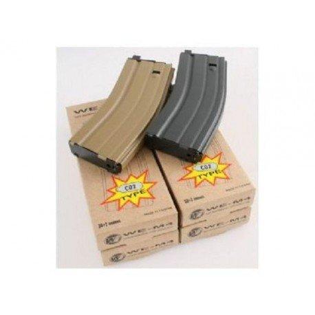 WE Chargeur Co2 GBBR M4 Noir (WE) AC-WEGC0105M Chargeurs