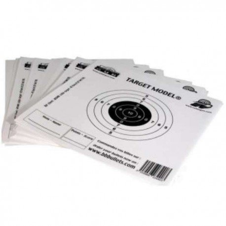 CYBERGUN Cible Papier (Pack de 50) 140x140mm (Swiss Arms 603490) AC-CB603490 Equipements
