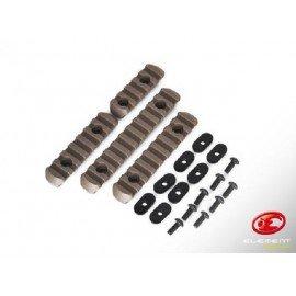 MOE Rail (Set 4 piezas) Desierto (Elemento EX254)