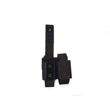 WE Poche Molle Double Grenade 40mm Noir AC-FDST303 Poche Molle