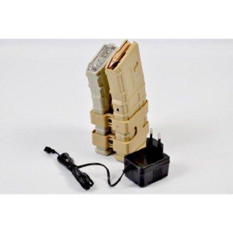 WE A&K Double PMAG Electrique 800 billes AC-JYB38T Chargeurs