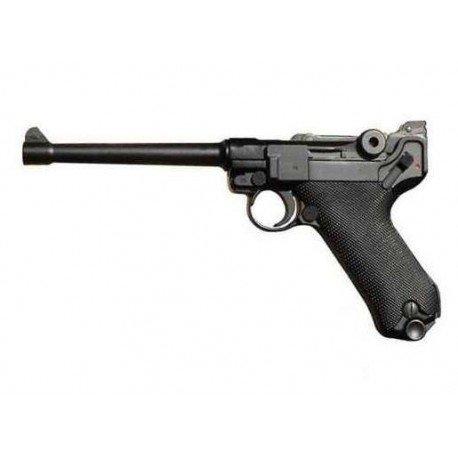 """WE WE Luger P08 6"""" Marine Gaz RE-WEGGB0337TM Répliques WWI / WWII"""
