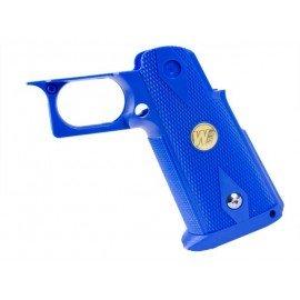 WE Grip Blue Pistol IPSC