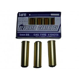 Cartuchos de revólver HFC x6