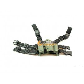 Holster Oberschenkelplattform CQC M1911 OD (Fidragon)