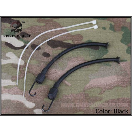 Emerson Sangle Casque / NVG Lanyard Noir (Emerson) AC-EMEM5663B Casque airsoft