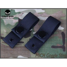 Emerson Sangle Casque / Goggle Strap Noir (Emerson) AC-EMEM5670 Casque airsoft