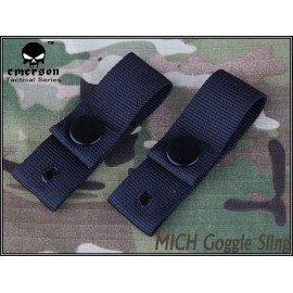 Emerson Strap / Goggle Strap Schwarz (Emerson) AC-EMEM5670 Airsoft Helm