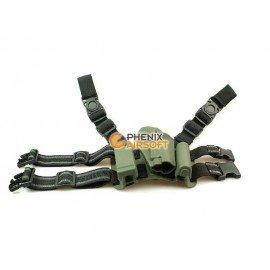 Holster Cuisse CQC OD P226 (Fidragon) AC-FDST512P226G Holster