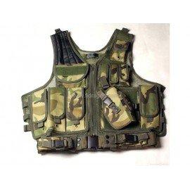 WE Veste Tactique Holster Camo AC-FDST26CAM Gilet & Veste tactique
