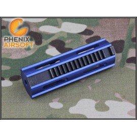 Piston Aluminium CNC Bleu