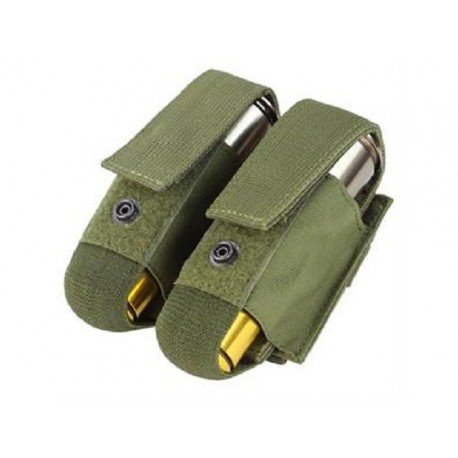 WE Poche Grenade 40mm (x2) OD (Fidragon) AC-FDST303G Poche Molle