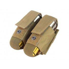 WE Poche Grenade 40mm (x2) Désert (Fidragon) AC-FDST303T Poche Molle