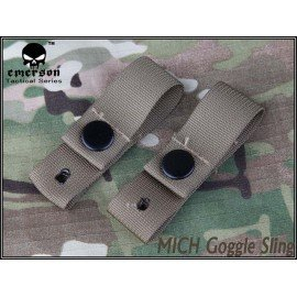 Emerson Sangle Casque / Goggle Strap Desert (Emerson) AC-EMEM5670B Casque airsoft