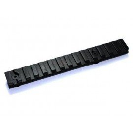 Rail 120mm (Set 2pcs) Noir