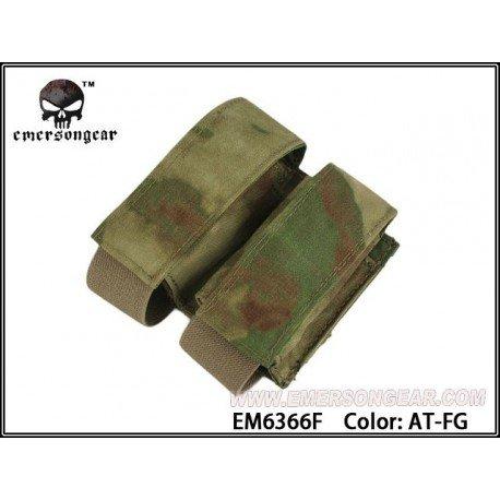 Emerson Poche Grenade 40mm (x2) A-Tacs FG (Emerson) AC-EMEM6366F Poche Molle