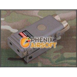 Boitier PEQ-10 Lampe & Laser D