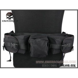 Schwarzer Scharfschützengürtel (Emerson)