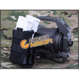Taschenladegerät TACO M4 (x2) Schwarz (Emerson)