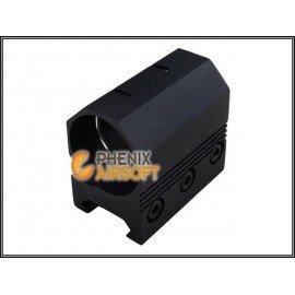 Emerson Emerson Montage Hexagonal pour Lampe / Laser AC-EMBD0816 Anneaux de montage