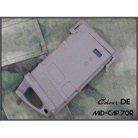 Cargador M4 PMAG 70 bolas con placa Ranger Desert (Emerson)