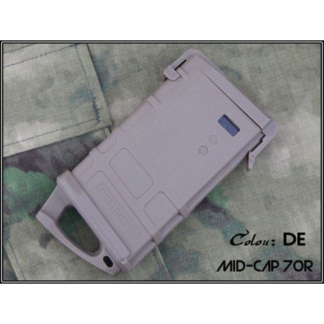 Emerson Chargeur M4 PMAG 70 Billes w/Ranger Plate Desert (Emerson) AC-EMBD4197A Chargeurs