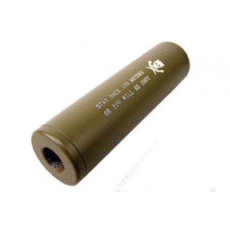 Emerson Silencieux Stubby Killer 110mm Desert (Emerson) AC-EMBD0464 Silencieux & Adaptateur