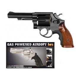 replique-Revolver Gaz M10 Noir (HFC HG131B1) -airsoft-RE-HFHG131B1