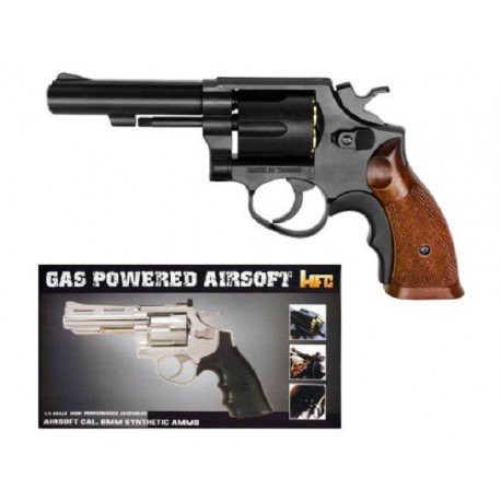 replique-Revolver Gaz M10 Noir (HFC HG131B1) -airsoft-RE-HFHG131B1