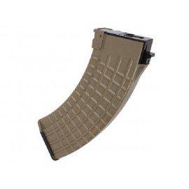 Ladegerät AK47 Waffel 600 Perlen Desert (King Arms)