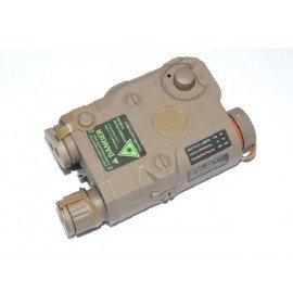 Boitier Batterie PEQ-15 Desert (S&T)