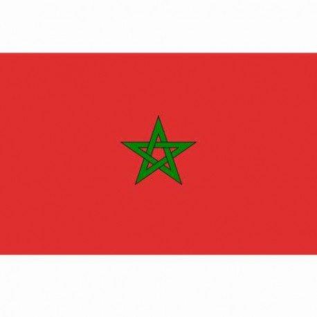 101 INC Drapeau Maroc 150x100 cm AC-WP447200120 Drapeau