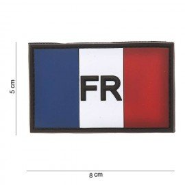walpat Patch 3D PVC Drapeau France (101 Inc) AC-WP47182099A Patch en PVC
