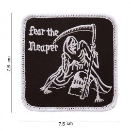 101 INC Patch Fear The Reaper AC-WP47169075A Patch en tissu
