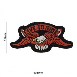 101 INC Patch Live To Ride AC-WP47016675A Accessoires